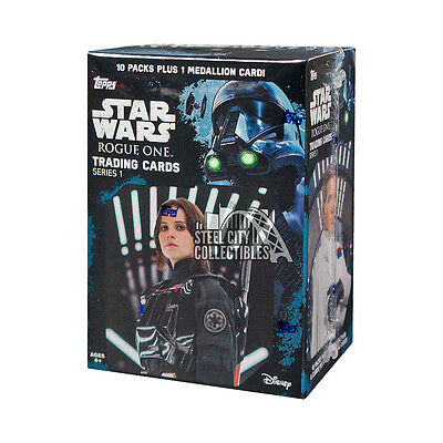2016 Topps Star Wars Rogue One 10ct Blaster Box