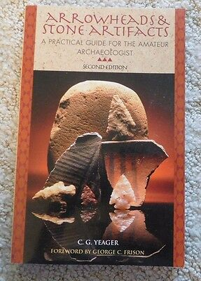 """Arrowheads & Stone Artifacts"""" Book - New"