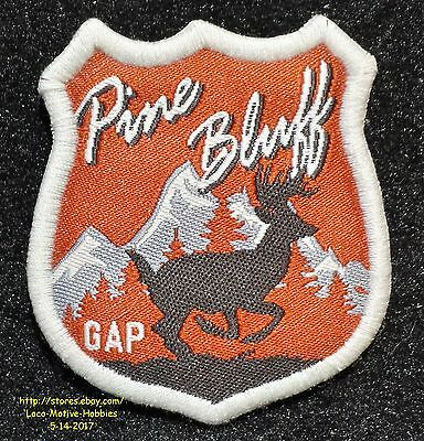 LMH PATCH Badge  PINE BLUFF  Mountains Wildlife Hunting Resort Gap Arkansas Deer