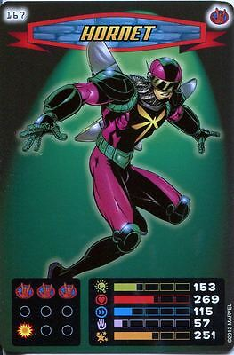 Spiderman Heroes And Villains Card #167 Hornet