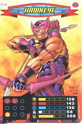 Spiderman Heroes And Villains Card #016 Hawkeye
