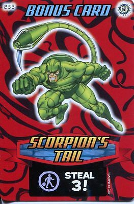 Spiderman Heroes And Villains Card #253 Scorpions Tail