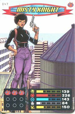 Spiderman Heroes And Villains Card #047 Misty Knight