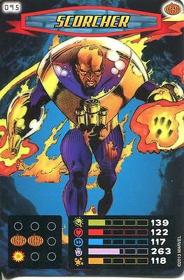 Spiderman Heroes And Villains Card #095 Scorcher