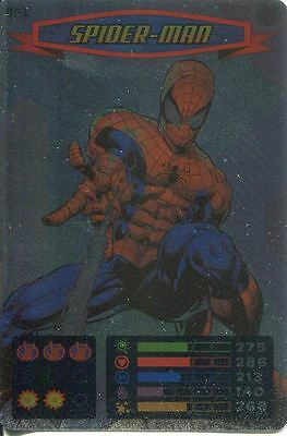 Spiderman Heroes And Villains Card #001 Spider-Man Foil
