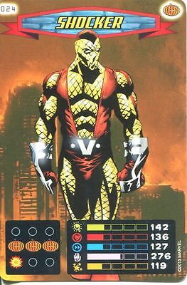 Spiderman Heroes And Villains Card #024 Shocker