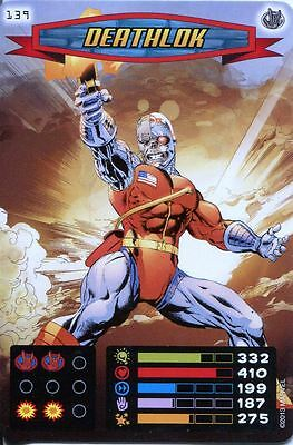Spiderman Heroes And Villains Card #139 Deathlok