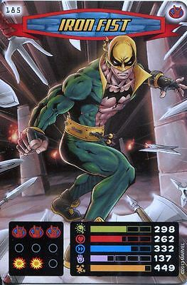 Spiderman Heroes And Villains Card #185 Iron Fist