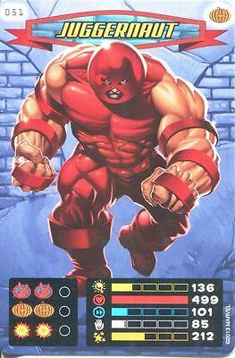 Spiderman Heroes And Villains Card #051 Juggernaut