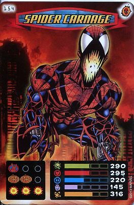 Spiderman Heroes And Villains Card #154 Spider Carnage