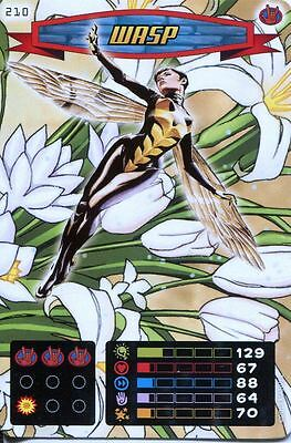 Spiderman Heroes And Villains Card #210 Wasp