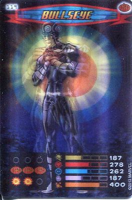 Spiderman Heroes And Villains Card #119 Bullseye Lenticular