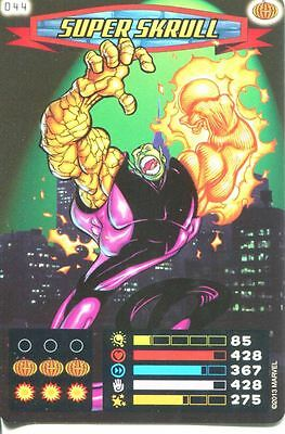 Spiderman Heroes And Villains Card #044 Super Skrull