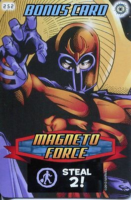 Spiderman Heroes And Villains Card #252 Magneto Force