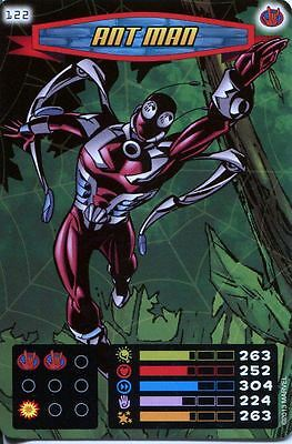 Spiderman Heroes And Villains Card #122 Ant Man