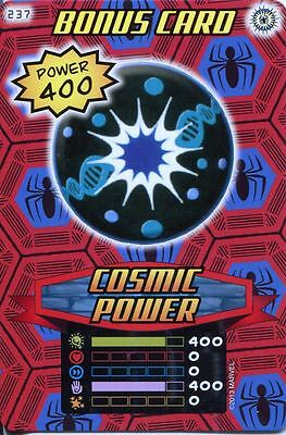Spiderman Heroes And Villains Card #237 Cosmic Power