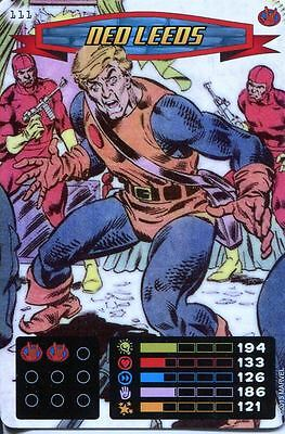 Spiderman Heroes And Villains Card #111 Ned Leeds