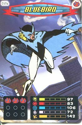 Spiderman Heroes And Villains Card #026 Bluebird