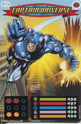 Spiderman Heroes And Villains Card #075 Captain Universe