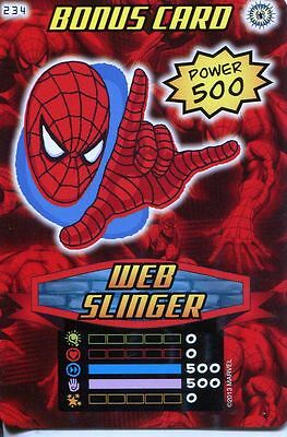 Spiderman Heroes And Villains Card #234 Web Slinger