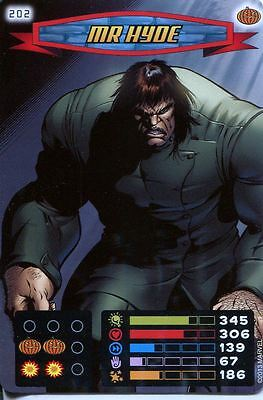 Spiderman Heroes And Villains Card #202 Mr Hyde