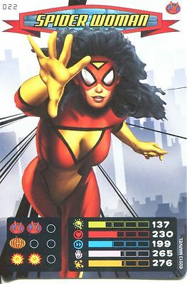Spiderman Heroes And Villains Card #022 Spider-Woman