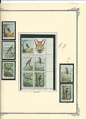 Caribbean #690a-700a Sheets and Sets plus Other Issues on Album Pages, SCV $162