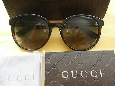 New New !! Gucci Unisex Sunglasses  # Gg 3722/s Tortice Color  -  Authentic