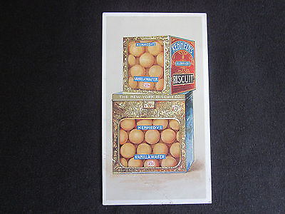 1890 KENNEDY'S Vanilla Wafer in Bins New York Biscuit Co. Trade Card RARE