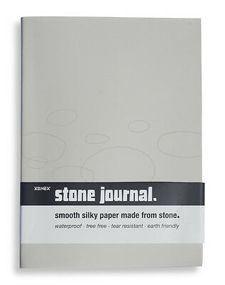 Xonex Pens STONE A5 160 page Rule JOURNAL silky paper made from stone/waterproof