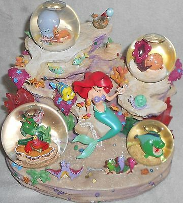 Disney The Little Mermaid and Friends Under The Sea Symphony Snow Globe 4