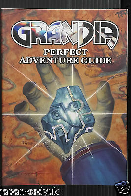 JAPAN Grandia Perfect Adventure Guide book oop rare japan