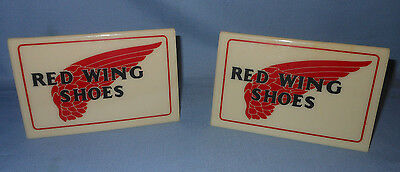 Vintage Red Wing Shoes - Counter Top Display Sign 2 Sides