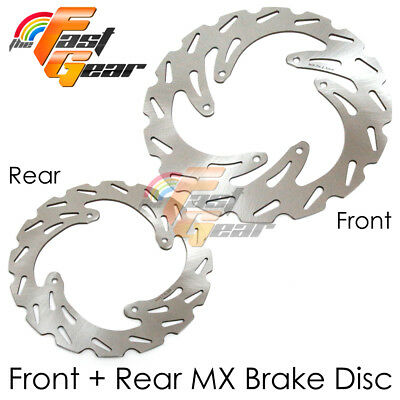 Dirt Bike Front Rear Brake Disc For HONDA CRF450 R 04-13