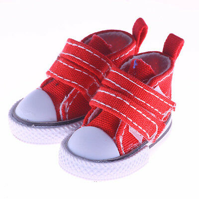 Canvas Shoes For 1/6 blythe Doll Toy Mini Doll Shoes for Sharon Doll  5cm m120