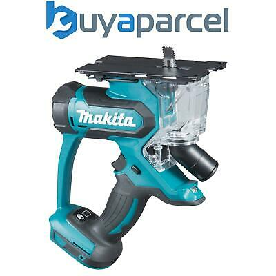 Makita DSD180Z 18V LXT Lithium Ion Cordless Plasterboard Drywall Cutter - Bare