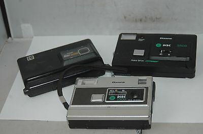 Job Lot Of Three Disc  Film Cameras
