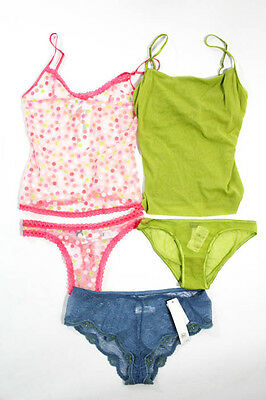 Lot 3 New Cosabella On Gossamer Panties Camisole Sets Size M