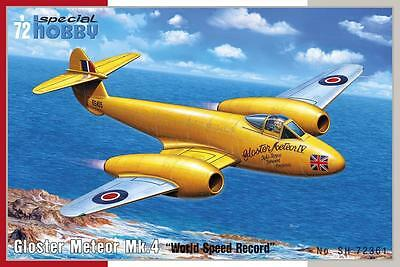"""SPECIAL HOBBY 72361 Gloster Meteor Mk.4 """"World Speed Record"""" in 1:72"""