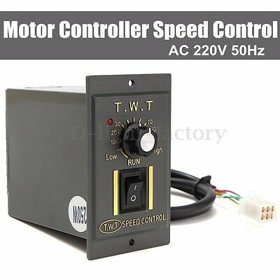 AC 220V Motor Speed Controller 250W Variable Frequency Converter Electronic Tool