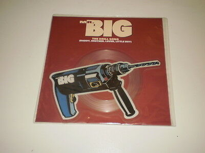 "Mr. Big - The Drill Song -  7"" Shaped Picture Disc 1991 Wea Records -"