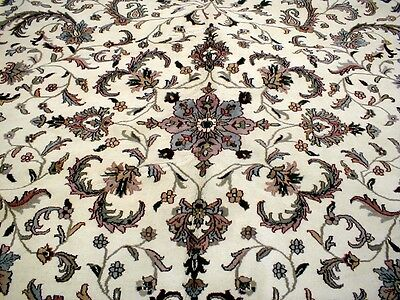 24X14 Breathtaking Hand Knotted Wool 200Kpsi Persian Tabriz Design Oriental Rug