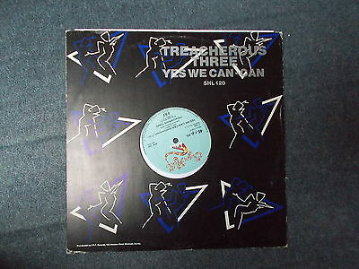 """Treacherous Three Yes We Can Can 12"""" Sugar Hill Records 1982 SHL 120"""