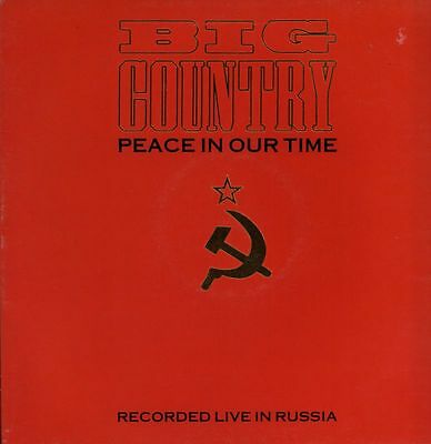 """Big Country(12"""" Vinyl Gatefold)Peace In Our Time-Mercury-BIGCR712-UK-19-VG/Ex+"""