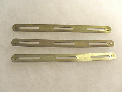Set Of 3 Wwii-Present Set Of 3 Ribbon Bars To Hold 3 Ribbons Each Clutch Back