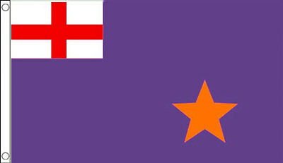 PURPLE STANDARD FLAG 5' x 3' Northern Ireland Irish Ulster Loyalist Orange Order