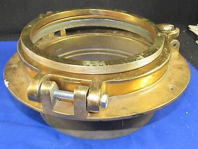 Vintage Solid Brass Porthole Window Parts,Boat-Ship-Maritime Decoration 10.5 lbs