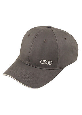 Audi Official Sandwich Bill Charcoal Baseball Cap