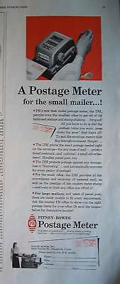 1950 Pitney Bowes Postage Meter Small Mailer Ad