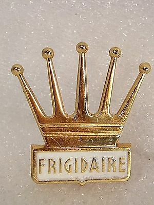 RARE new old stock ORIGINAL vintage FRIGIDAIRE advertising EMBLEM appliance SIGN